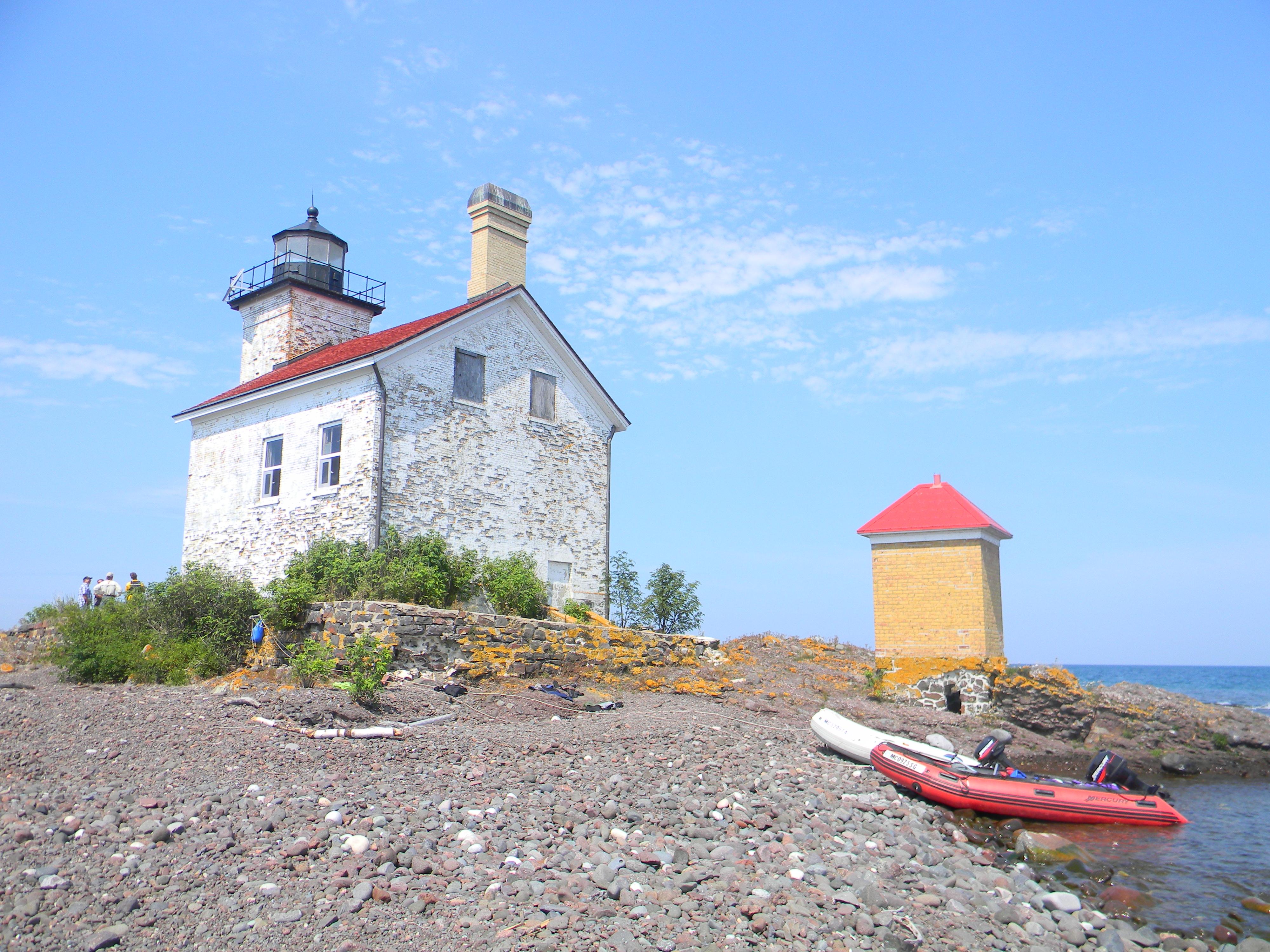 Gull rock lighthouse interior rehabilitation mlapgrants blog for Light house interior