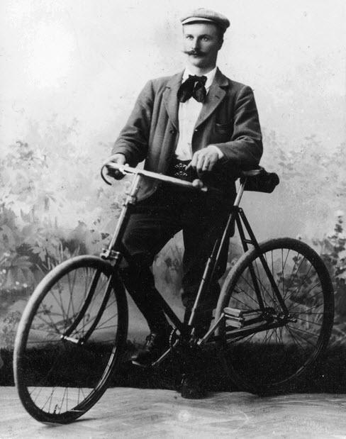 Gustav Dalen 1895